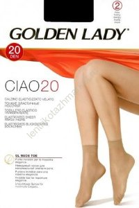 Носки GOLDEN LADY CIAO 20 Calzino. (2 пары)