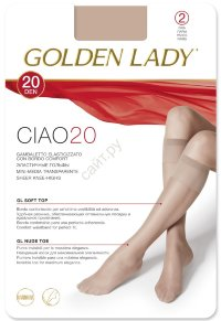 Гольфы GOLDEN LADY CIAO 20 Gamb. (2 пары)